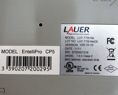 Lauer Bedienpanel EntelliPro CP5  Model: LHT-T70t-NE -used- – Bild 3