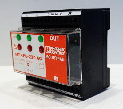 Phoenix Contact MT 4PE-230 AC No. 2762100 -unused- – Bild 1