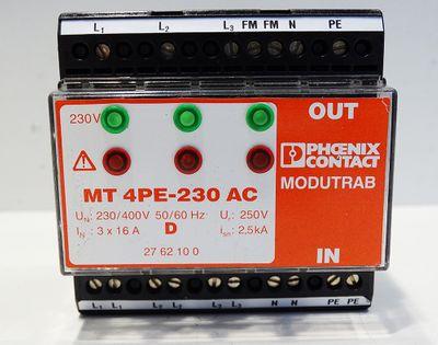 Phoenix Contact MT 4PE-230 AC No. 2762100 -unused- – Bild 2