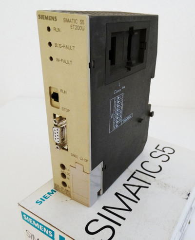 Siemens Simatic S5 6ES5318-8MB11 6ES5 318-8MB11 E-Stand: 01 -used/in Box- – Bild 1