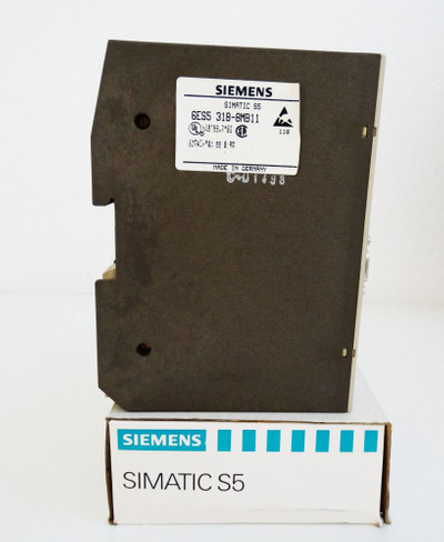 Siemens Simatic S5 6ES5318-8MB11 6ES5 318-8MB11 E-Stand: 01 -used/in Box- – Bild 2
