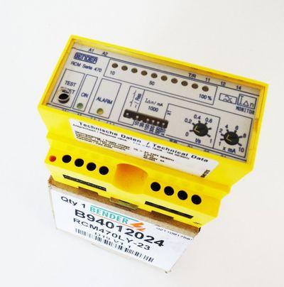 Bender B94012024 RCM470LY-23 Differenzstrom-Überwachung -unbenutzt/OVP- – Bild 1