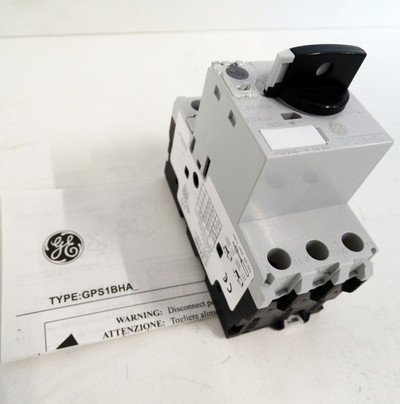 GE Power Controls Leistungsschalter Motorschutz GPS1BHAD - unused - in OVP – Bild 1