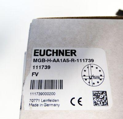 Euchner Türbox-Zuhalte-Griffmodul MGB-H-AA1A5-R-L-111739 - unused - in OVP – Bild 2