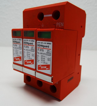Dehnguard DG TNC 230 400 FM No. 900540 + 3x T-275 No. 900670 -used- – Bild 1