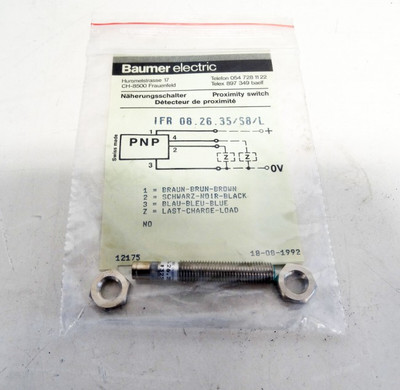 Baumer electric IFR 06.26.35/S8/L M8 Gewinde  - unused - – Bild 1