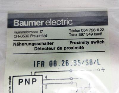 Baumer electric IFR 06.26.35/S8/L M8 Gewinde  - unused - – Bild 2