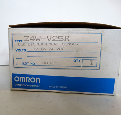 Omron Z4W-V25R LED Displacement Sensor 12-24VDC - unused in OVP – Bild 3