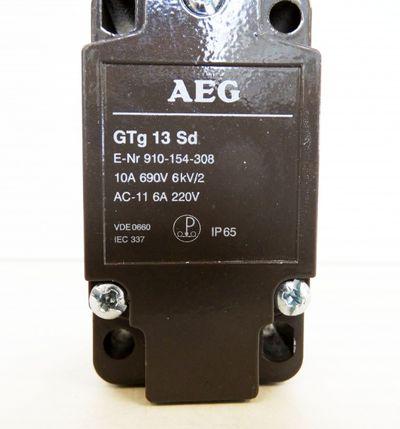 AEG Positionsschalter GTg 13 Sd 910-154-308  - unused - – Bild 2