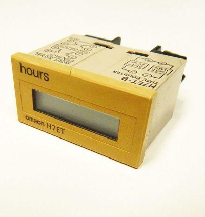 Omron Betriebsstundenzähler H7ET  - used - – Bild 1
