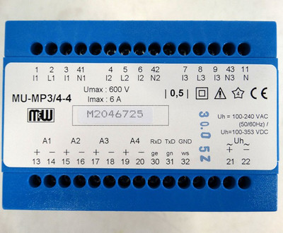 GMW Messumformer MU-MP3/4-4 Typ: D1 - unused - in OVP – Bild 2