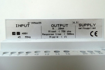 IME D6F Frequency Transducer Messumformer No.: 9956655 - used - in OVP – Bild 2