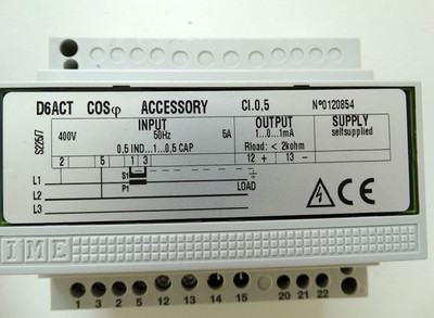 IME D6ACT COS-phi Accessory No.:0120854  - used - in OVP – Bild 2