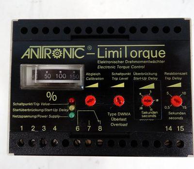 ANTRONIC LimiTorque Drehmomentwächter DWMA-400-1-0-0000  - used - – Bild 2
