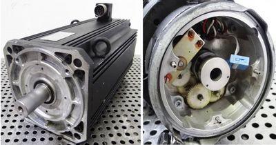 Indramat Servomotor MAC112C-0-KD-4-C/130-A-2/WA609XX/S018 -used- – Bild 2