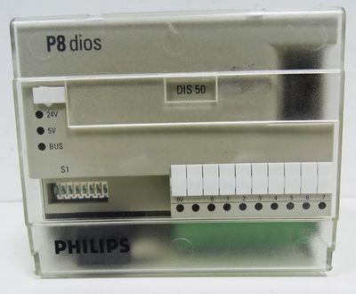 Philips P8 dios DIS 50  Digital-Slave-Module   8-Eingänge  -used- – Bild 2