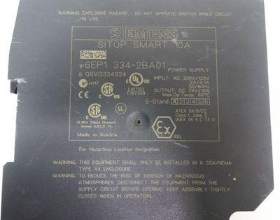 Siemens Sitop Smart 10A 6EP1 334-2BA01 – Bild 3