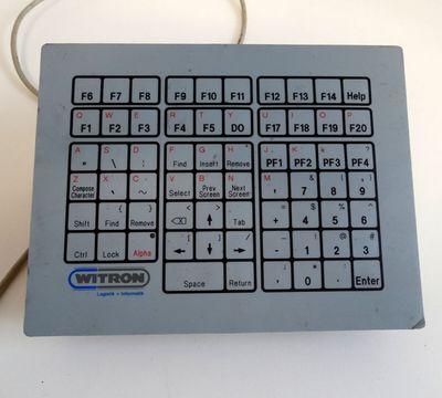 Witron Tastaturpanel 37U1.01  - used - – Bild 1