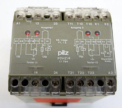 Pilz P2HZ/4 No: 17794  Sicherheitsrelais  - used - – Bild 3