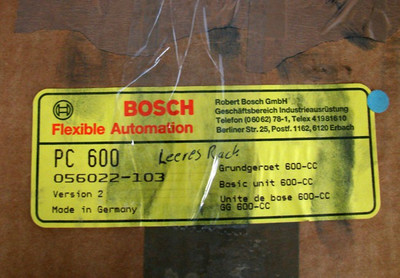 Boch PC600 Grundrack GG 600-CC   056022-103  - unused - in OVP – Bild 3