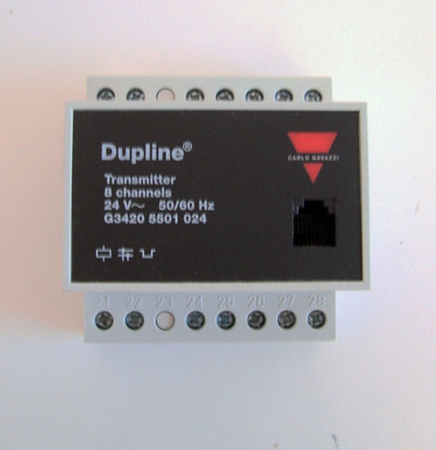 Carlo Gavazzi G3420 5501 024 Dupline 8-Channel Transmitter  - unused - – Bild 2