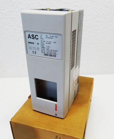 BOSCH ASC 75-SO 1220 Art.-Nr. 1070918166 Frequenzumrichter -used/in Box- – Bild 1