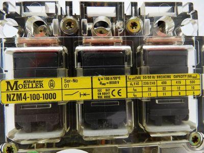 Klöckner Moeller NZM4-100-1000 3-Pol Leistungsschalter -unused/OVP- – Bild 2