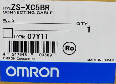 OMRON Connecting  Cable ZS-XC5BR XSXC5BR -unused/OVP- – Bild 2