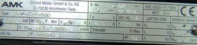 AMK Servomotor DV 4-1-4 OBO -unused- – Bild 3