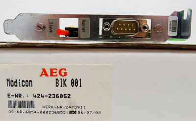 AEG Modicon BIK 001 BIK001 -used- – Bild 2