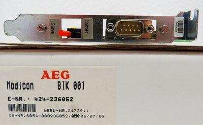 AEG Modicon BIK 001 BIK001 -used- – Bild 2