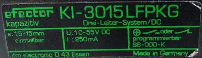 Ifm efector KI-3015LFPKG Kapazitiv Sensor -unused/OVP- – Bild 3