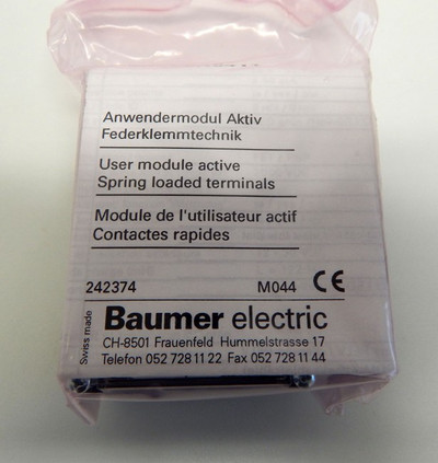 Baumer ASIA 56A0411 ASi-Modul 242374   - unused - in OVP – Bild 2