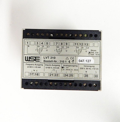 WSE LVT 310  No: 310.111 - used - – Bild 2