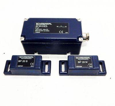 Schmersal BN 20-rz-M16 Magnetschalter Reedkontakt IP 67   - used - – Bild 1