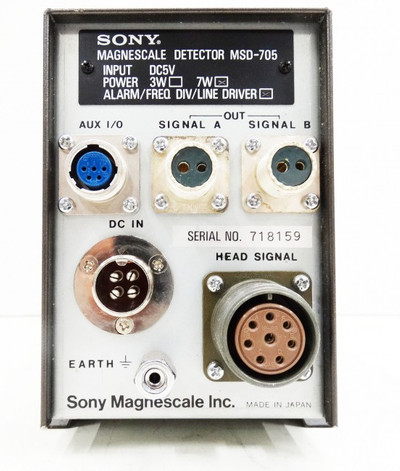 Sony Magnescale Detector MSD-705 -used- – Bild 2