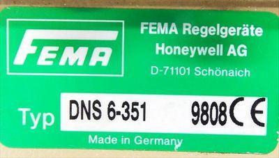 FEMA DNS 6-351 6 bar Druckschalter -used- – Bild 3