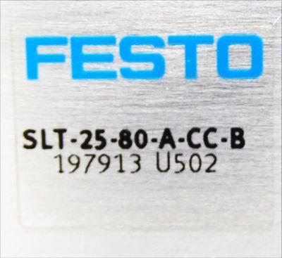 Festo SLT-25-80-A-CC-B 197913 U502 Minischlitten -unused/OVP- – Bild 3