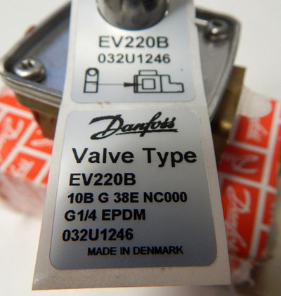 Danfoss Valve EV220B  032U1246  - unused - in OVP – Bild 2