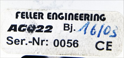 Feller Engineering Rack FP16 AG022 -used- – Bild 3