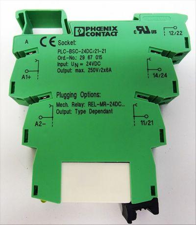 Phoenix Contact PLC-RSC-24DC/21-21 Ord. Nr. 29 67 06 0 8 Stück -unused/OVP- – Bild 3