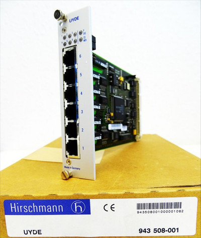 Hirschmann UYDE 943 508-001 UYDE943508001 Interface Karte -unused/OVP- – Bild 1