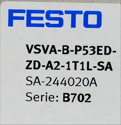 Festo VSVA-B-P53ED-ZD-A2-1T1L-SA  SA-244020A Magnetventil -unused/OVP- – Bild 3