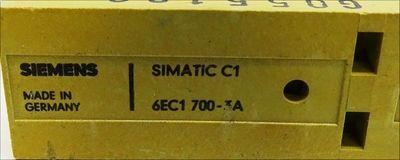 Siemens Simatic C1 6EC1 700-3A 6EC1700-3A -used- – Bild 3