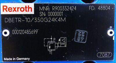 Rexroth DBETR-10/350G24K4M MNR R900352424 -used- – Bild 3