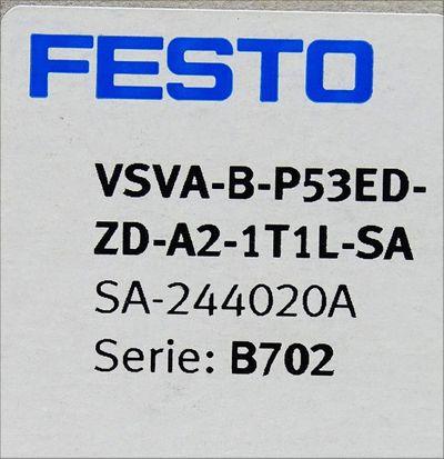 Festo VSVA-B-P53ED-ZD-A2-1T1L-SA  SA-244020A Magnetventil -used- – Bild 3
