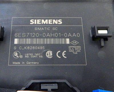Siemens SIMATIC S7 6ES7120-0AH01-0AA0 E-Stand: 02 Terminalblock -unused/OVP – Bild 2
