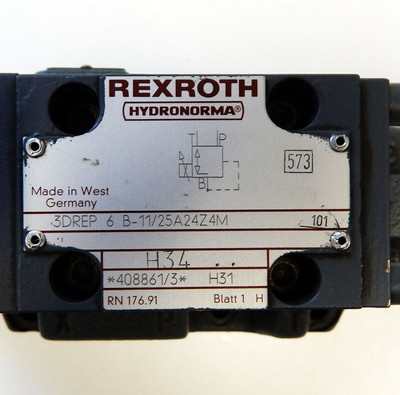 Rexroth Hydronorma Directional Valve  4WRZ 16 EA150-50/6A24Z4/M - unused - – Bild 2