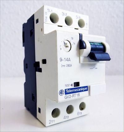 Telemecanique GV2-RT 16 GV2-RT16 9-14A Motorschutzschalter -used- – Bild 1