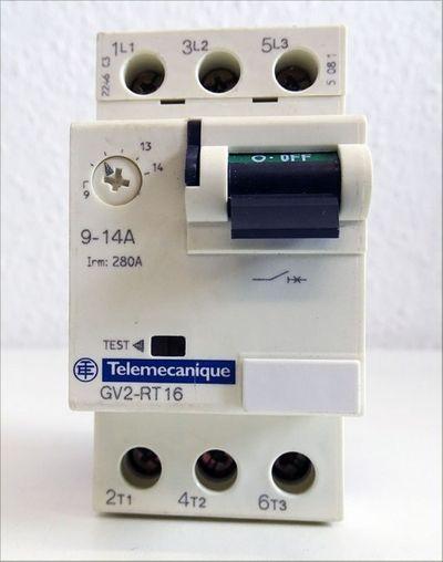 Telemecanique GV2-RT 16 GV2-RT16 9-14A Motorschutzschalter -used- – Bild 2